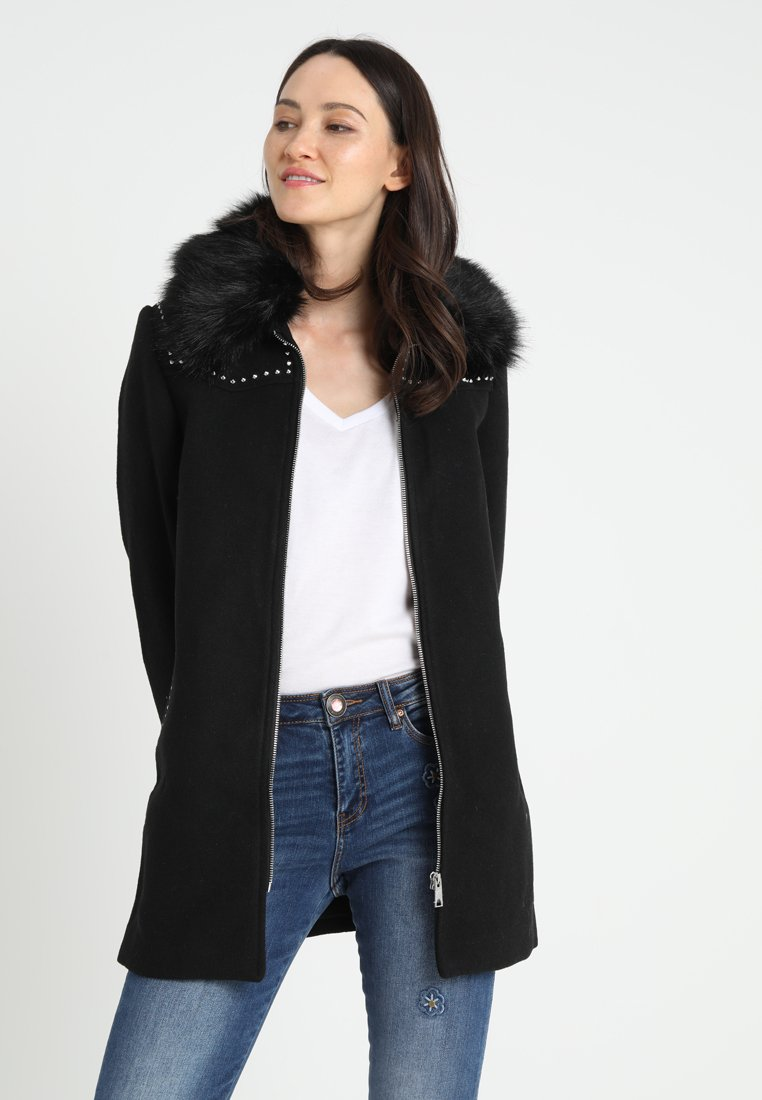 Desigual - COLLIN - Halflange jas - black
