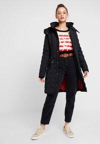 Desigual - PADDED LEICESTER - Zimní kabát - black - 2