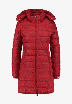 PADDED LETRAS - Winter coat - ketchup