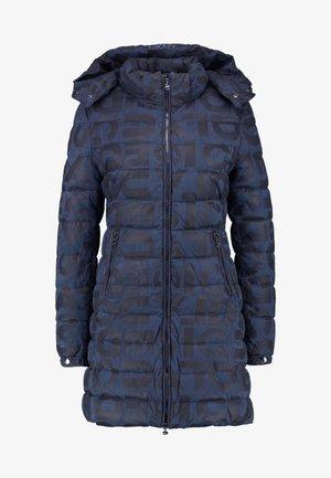 PADDED LETRAS - Płaszcz zimowy - navy