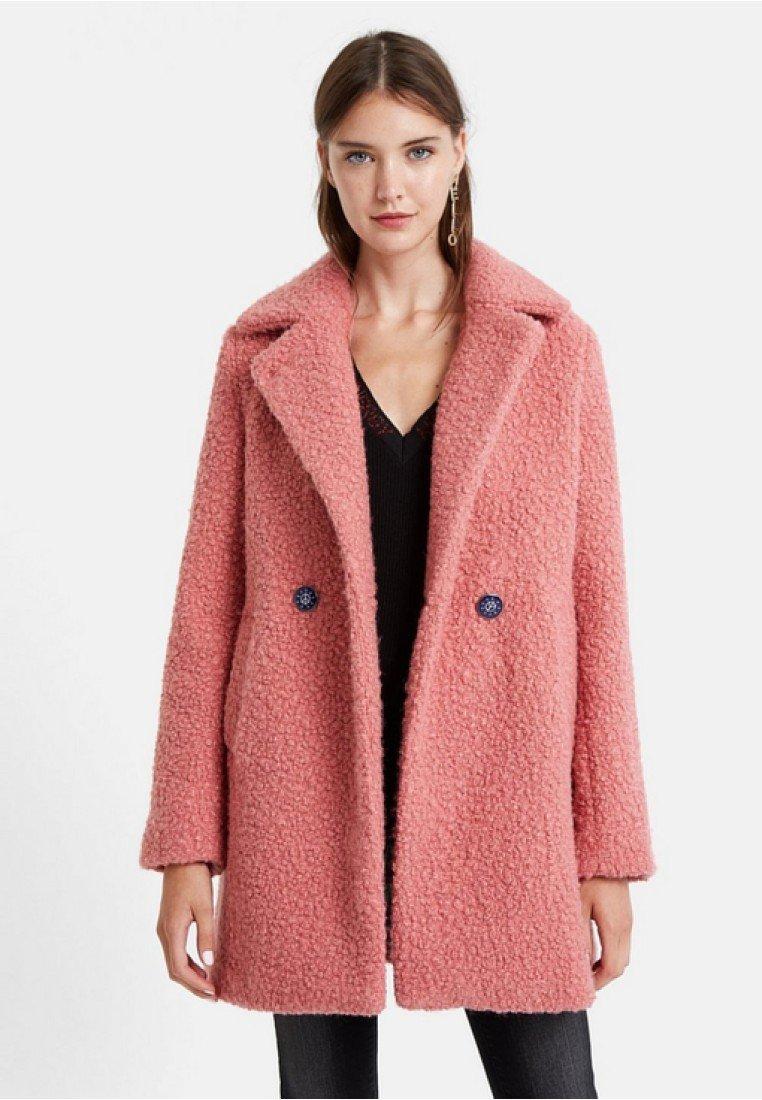Desigual - ABRIG KALE - Płaszcz wełniany /Płaszcz klasyczny - red