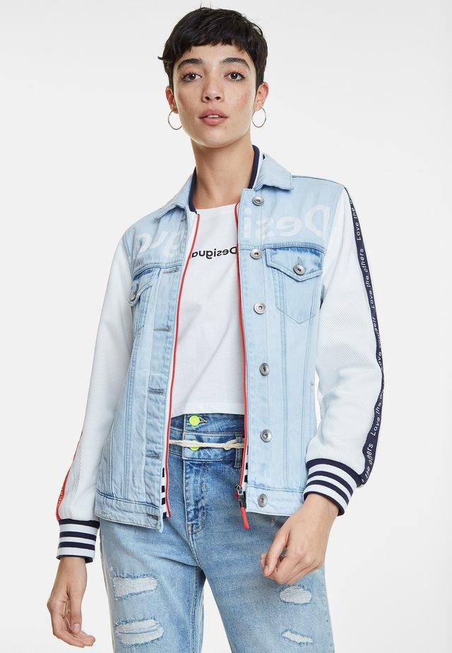 COURI - Denim jacket - blue