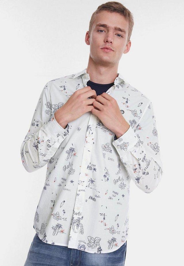 CAM_EZRA - Camisa - white
