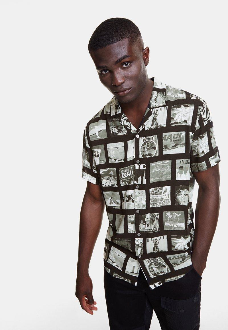 Desigual - CAM_GABRIEL - Camisa - black