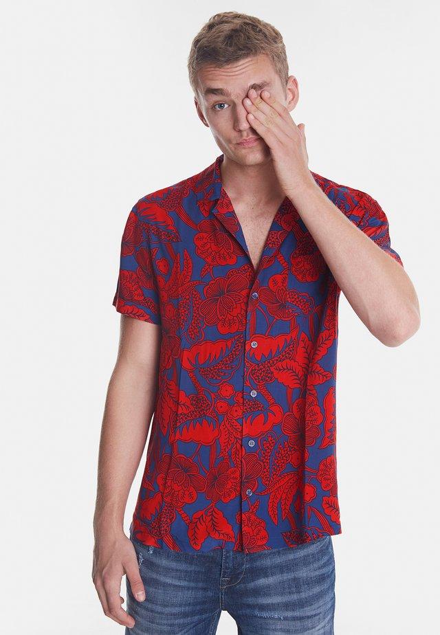 CAM_FINN - Camicia - red