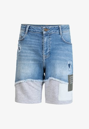 AXEL - Jeans Shorts - blue