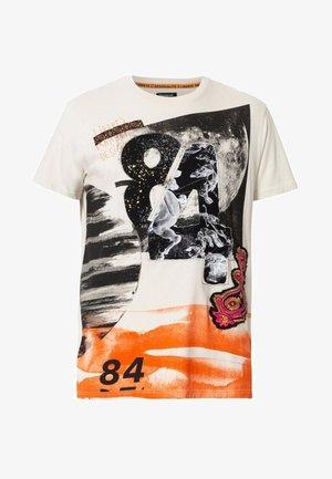 TER - T-shirt z nadrukiem - white