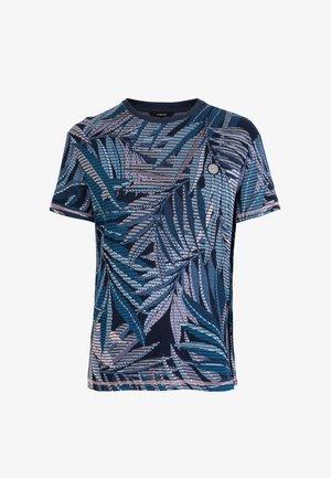TS_LOWELL - T-shirt z nadrukiem - blue