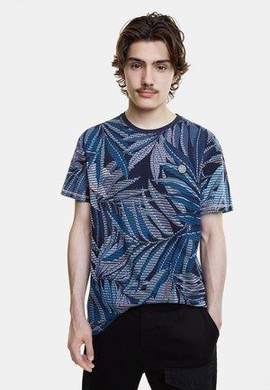 TS_LOWELL - Camiseta estampada - blue