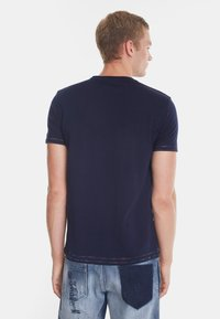 Desigual - TS_KEANE - Camiseta estampada - blue - 2