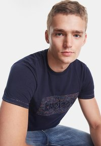 Desigual - TS_KEANE - Camiseta estampada - blue - 3