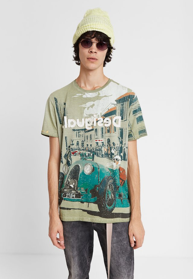 TS_NICK - T-shirt print - green
