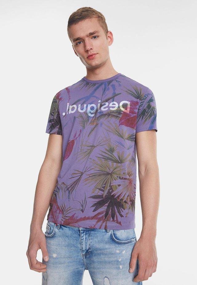 TS_JOSS - T-shirt z nadrukiem - red