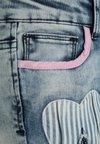 Desigual - ABAD - Jeansy Slim Fit - blue