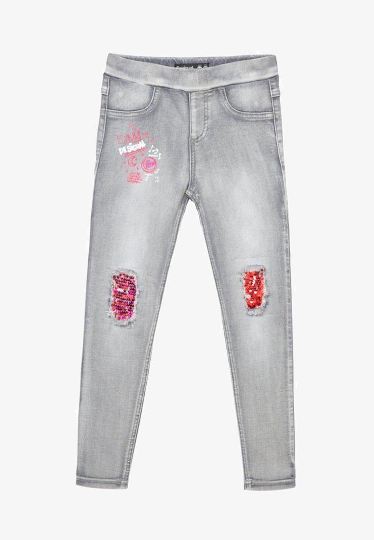 Desigual - MARTIN - Jeans Slim Fit - grey