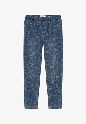 GOMEZ - Jeggings - blue denim