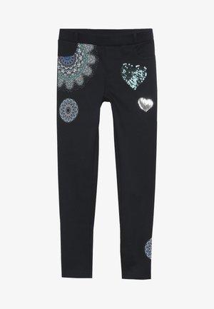 SIGLOS - Spodnie materiałowe - navy