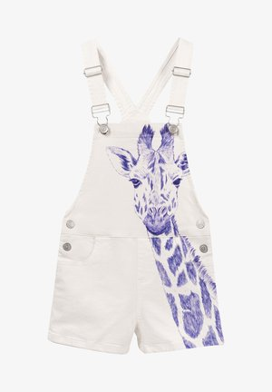 Dungarees - white