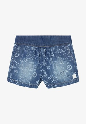 MARTIN - Denim shorts - vaquero