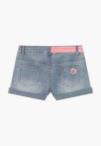 Desigual - RODRIGUEZ - Denim shorts - blue denim - 1