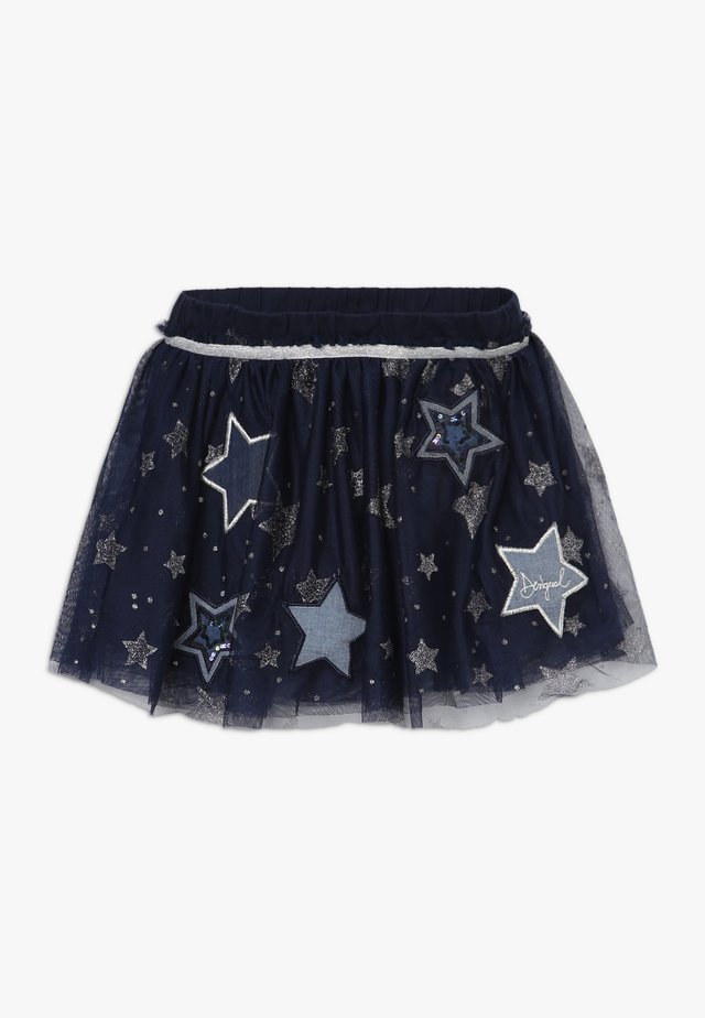STAR - Minifalda - navy