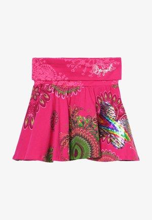 FAL GALACTIC - A-line skirt - fuchsia rose