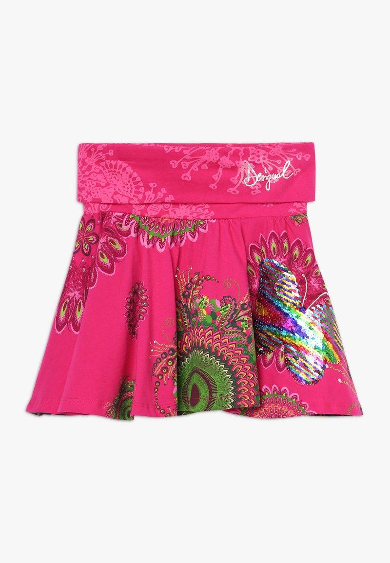 Desigual - FAL GALACTIC - A-line skirt - fuchsia rose