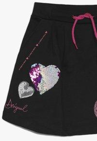 Desigual - CORE - Áčková sukně - black - 4
