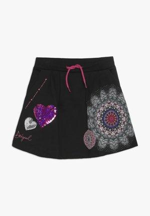 CORE - A-line skirt - black