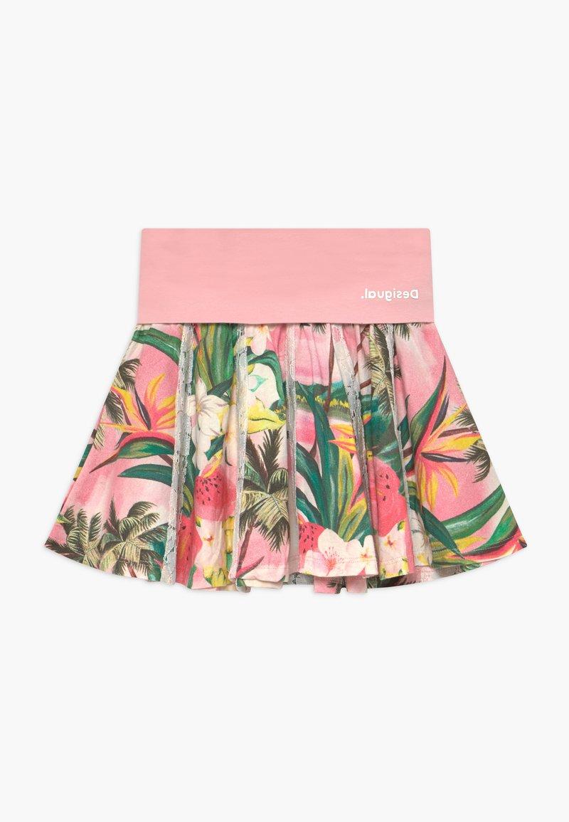 Desigual - BISMARCK - A-line skirt - rosa palido