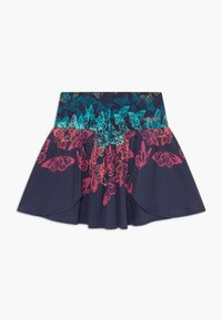 Desigual - HONOLULU - A-line skirt - navy - 0