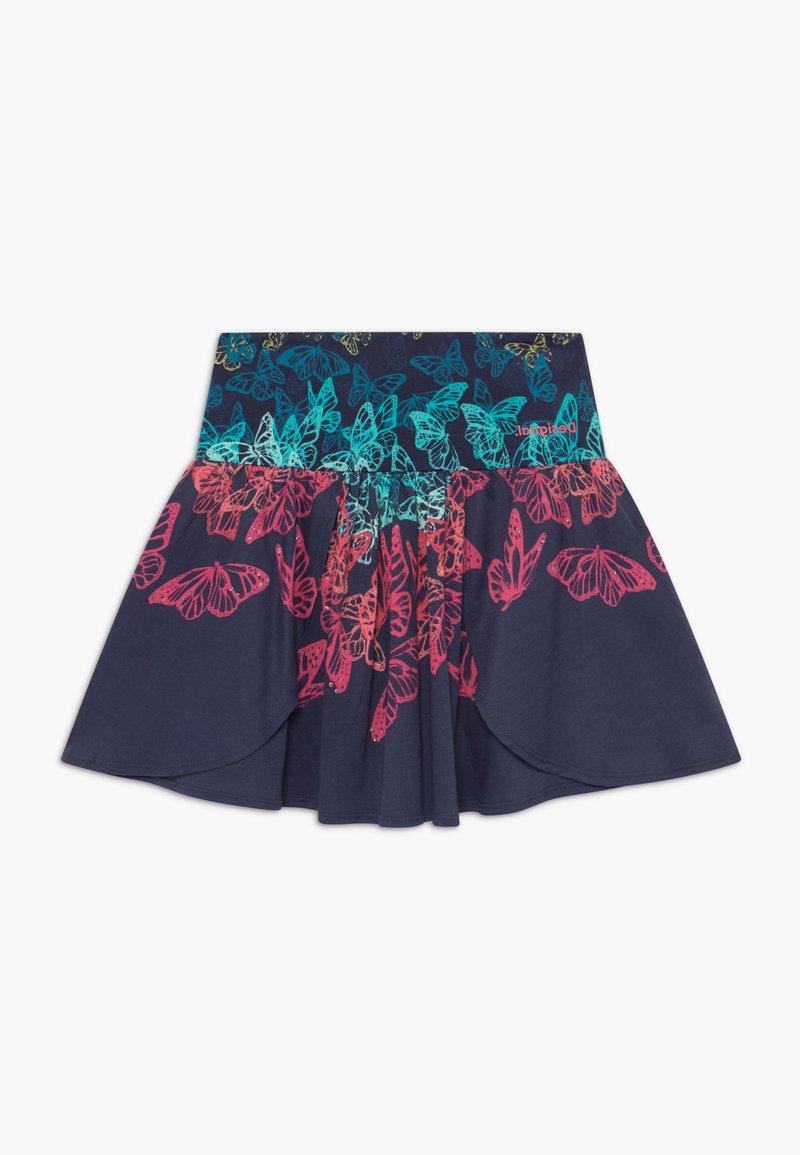 Desigual - HONOLULU - A-line skirt - navy