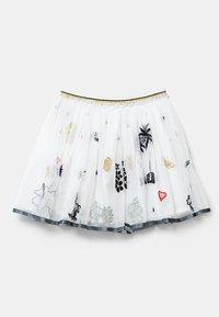 Desigual - HARTFORD - Pleated skirt - white - 1