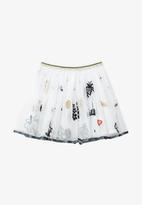 Desigual - HARTFORD - Pleated skirt - white - 0