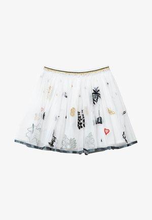 HARTFORD - Pliceret nederdel /Nederdele med folder - white