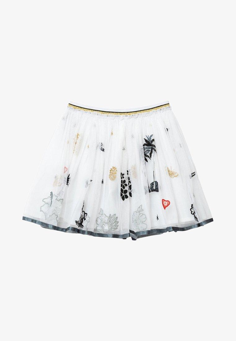 Desigual - HARTFORD - Pleated skirt - white