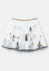 Desigual - HARTFORD - Pleated skirt - white - 2