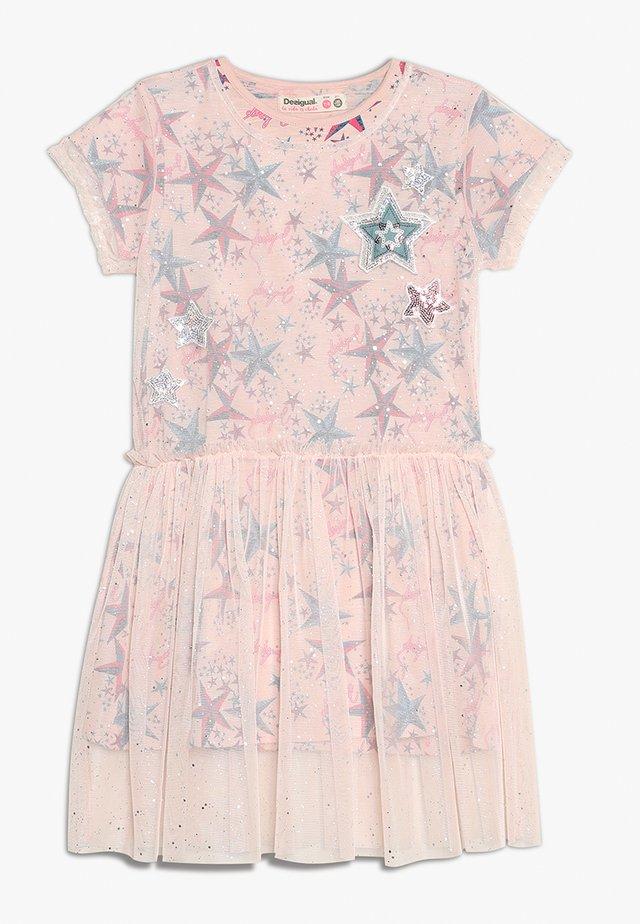 2-IN-1 - Korte jurk - pink