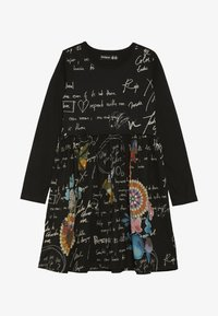 Desigual - DURANGO - Sukienka z dżerseju - black - 2