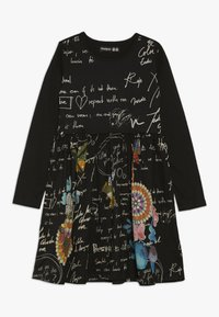 Desigual - DURANGO - Sukienka z dżerseju - black - 0