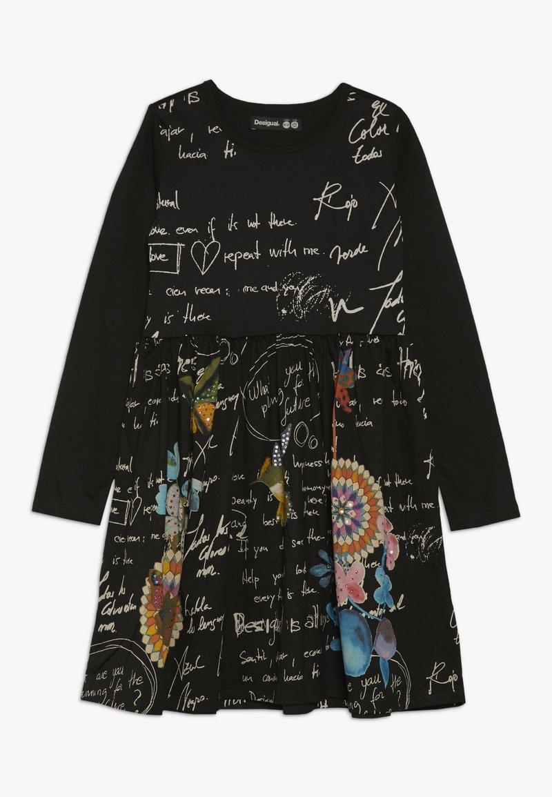 Desigual - DURANGO - Sukienka z dżerseju - black
