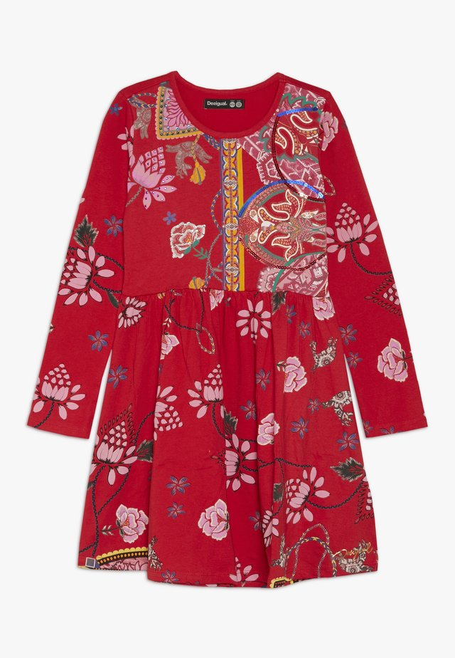 IXTAPALUCA - Vestito di maglina - rojo