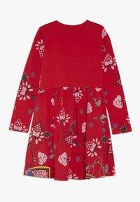 Desigual - IXTAPALUCA - Žerzejové šaty - rojo - 1