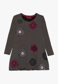 Desigual - PASAS - Žerzejové šaty - black - 0