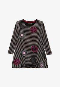 Desigual - PASAS - Žerzejové šaty - black - 2