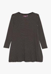 Desigual - PASAS - Žerzejové šaty - black - 1