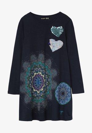 PERA - Sukienka z dżerseju - navy