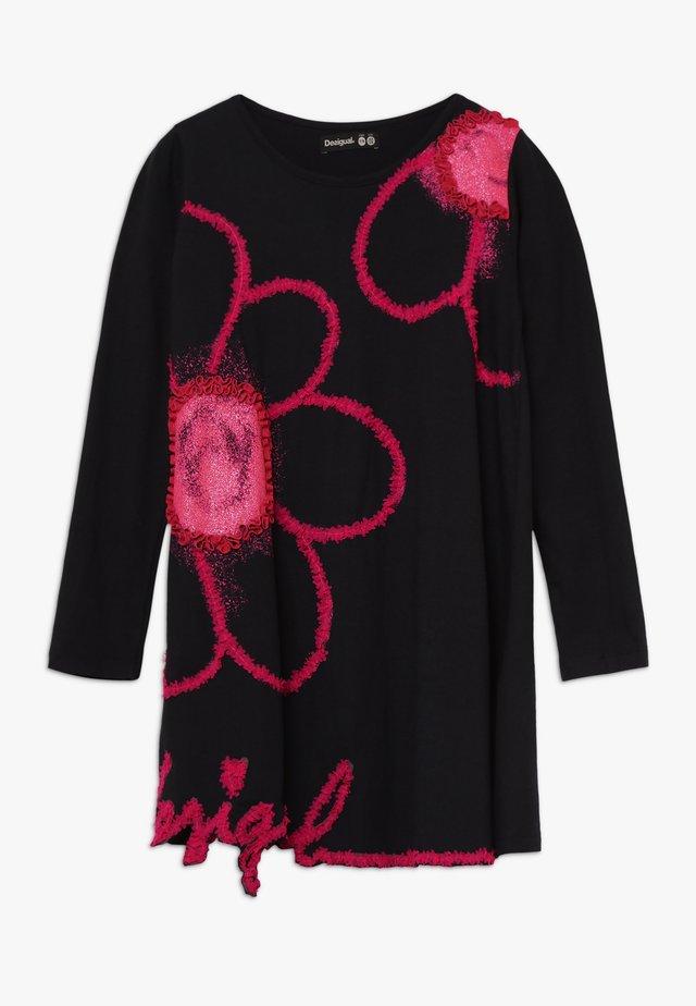 PAPAYA - Vestito di maglina - black