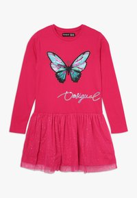 Desigual - VEST AGUASCALIENTES - Jersey dress - fuchsia rose - 0