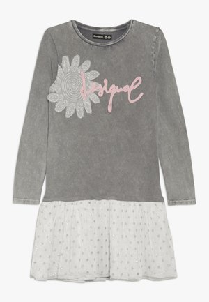 ENSENADA - Jersey dress - glaciar grey